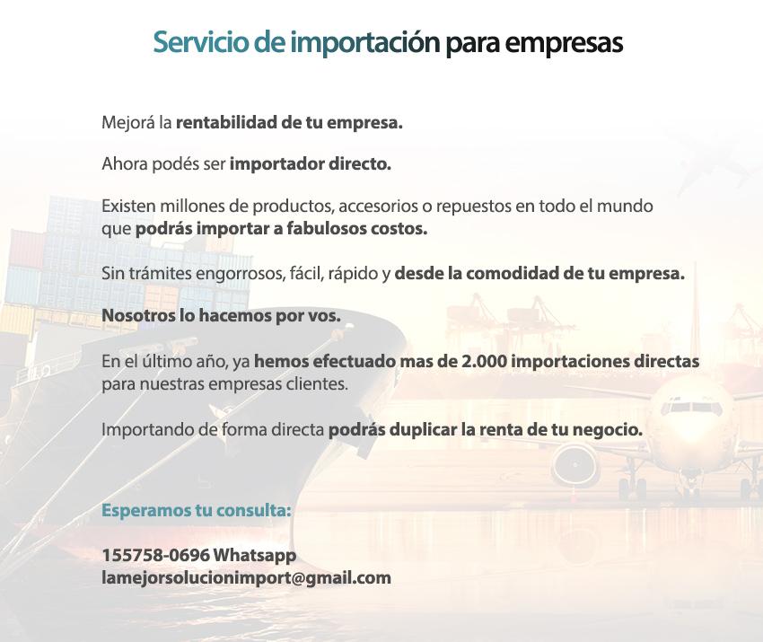 Servicio de importación para empresas
